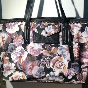 Authentic Isabella Fiore Floral Large Handbag